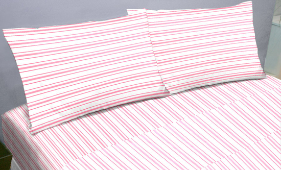 Pure Pink Luxury Microfiber Sheets