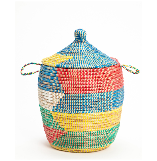 Fair Trade Handwoven Senegalese Baskets