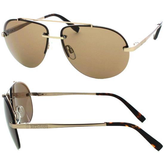 4d52c9d7ebb Kenneth Cole Metal Pilot Aviator Sunglasses In Gold