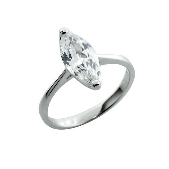 1247b34e4b9 Sterling Silver Engagement Ring