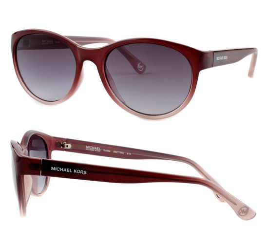 b65dbc1ee635  39.99 for Michael Kors Women s Sunglasses  Burgundy and Pale Pink  Frame Gray Gradient Lens (M.MKORSSUN-MK2779S-GOLDIE-615) ( 195 List Price)