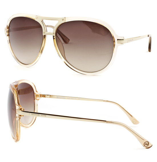 8cf28cb651f  39.99 for Michael Kors Women s Sunglasses  Champagne Frame Brown Gradient  Lens (M.MKORSSUN-M2471S-220-60-13) ( 195 List Price)