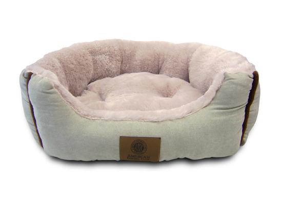 American Kennel Club Long Fur Cuddler Pet Beds
