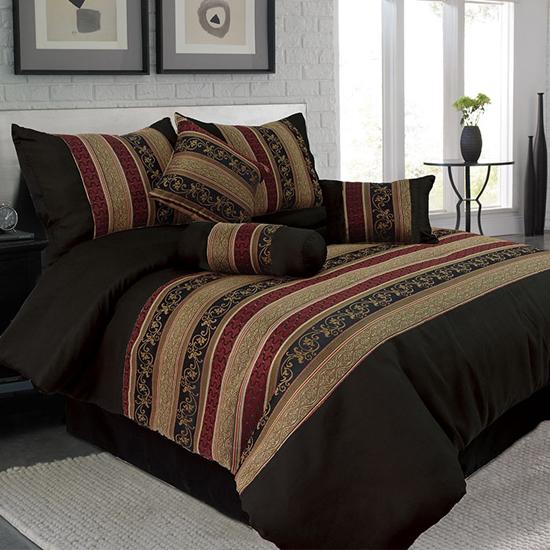 Lavish Home 7-Piece Comforter Set