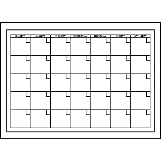 Wallpops Dry Erase Calendars Boards And Maps