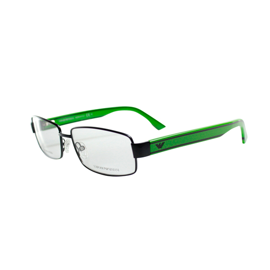 ced90177be Emporio Armani Optical Frames  Green-Black Metal Frame (EA9658-QM8-5515)  ( 191.8 List Price)