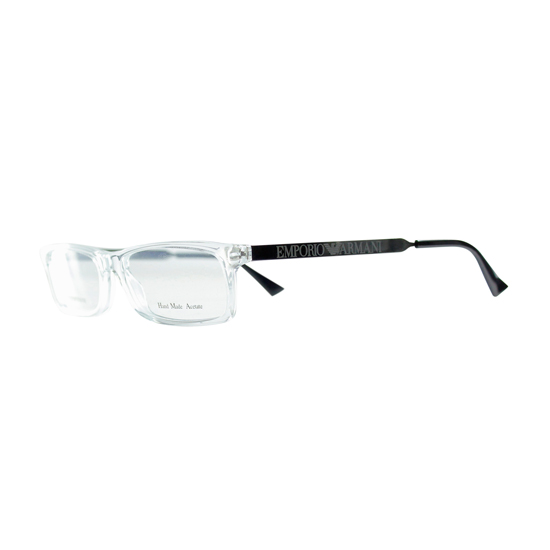 4b50875b9c Emporio Armani Optical Frames  Transparent-Gunmetal Plastic-Metal Frame ( EA9770-TDW-5015) ( 212.99 List Price)