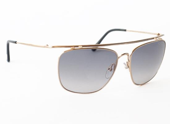 71920386ecc99 Harry Men s Sunglasses with Gold Frames and Gray Lenses (FT0192-28B) ( 495  List Price)
