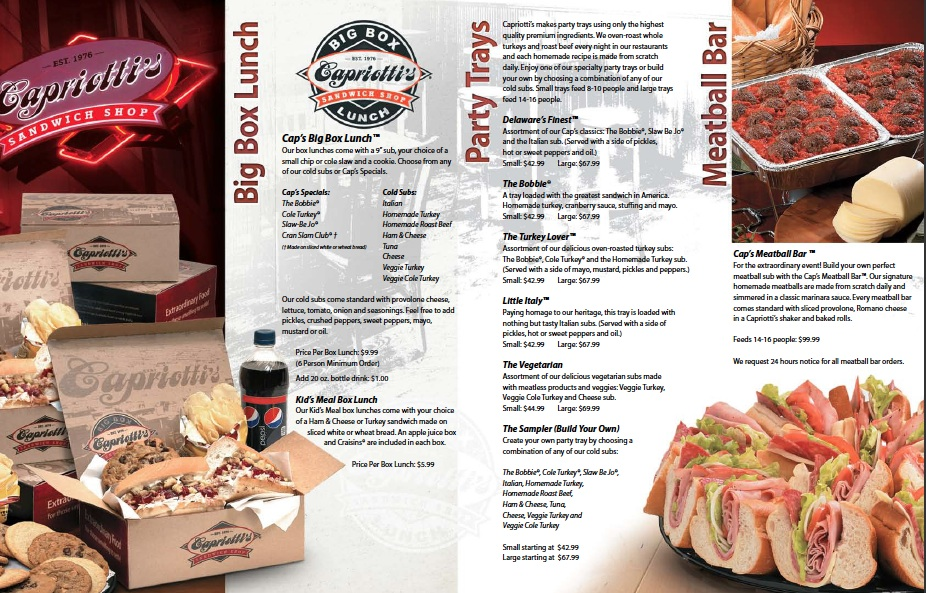 Capriotti's coupon code